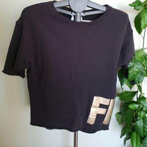 Wilfred Free cropped short sleeve sweatshirt
